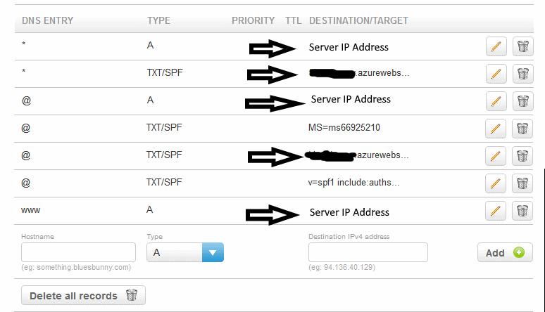 second DNS change