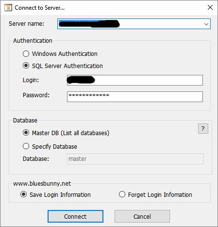 sql source server details
